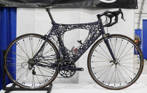 Calfee's spider bike